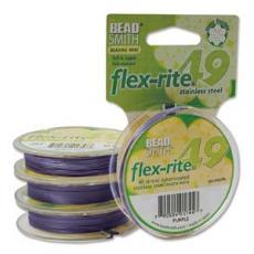 flex-rite 0,6 mm sötét-liláskék tekercs