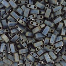 miyuki half tila matt metál ezüstszürke kb. 2,5 g