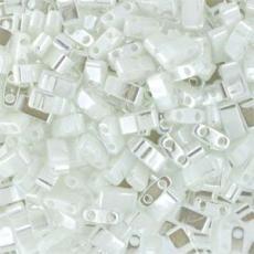 miyuki half tila lüszteres fehér kb. 2,5 g