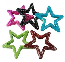 karácsonyi csillag mix 5 db