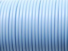 kaucsuk nyaklánc alap világoskék 4 mm 50 cm