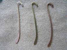 kicsike könyvjelző antik réz
