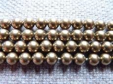 kristály tekla 6 mm: antik brass