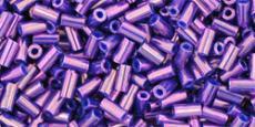 Toho rövid szalma metál lila 10 gr