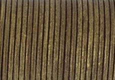 metál antik réz gömbölyített bőrszál