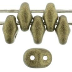 miniduo gyöngy: metallic suede gold 5 g