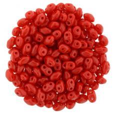 miniduo gyöngy: telt piros 5 g