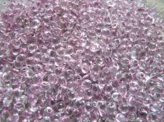 miyuki drops antik rózsaszín közepű kristály 8,5 g