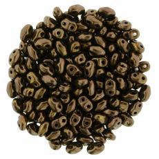 miniduo gyöngy: dark bronze 5 g