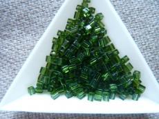 miyuki kocka áttetsző olivin 10 gr