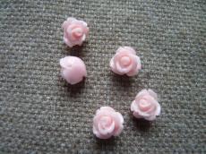 műgyanta rózsa rózsaszín
