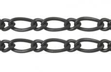 fekete ms lánc 1 m