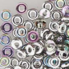 O-bead: Crystal silver rainbow 2,5 g