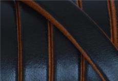 10x4,5 mm bőr karkötő alap fekete-mogyoró 1 cm