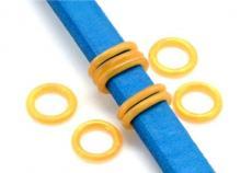 gumi köztes ovális bőrhöz kisebb arany 2 db