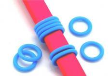 gumi köztes ovális bőrhöz kisebb kék 2 db
