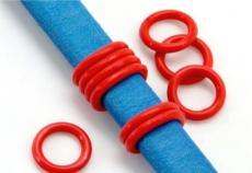 gumi köztes ovális bőrhöz kisebb piros 2 db
