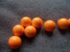 Angyalhívó csengő narancs 16 mm