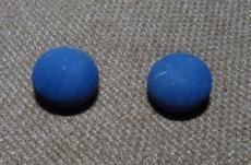 Angyalhívó csengő matt királykék 16 mm