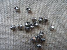 pellet gyöngy kristály-króm 20 db
