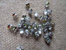 pellet gyöngy kristály vitrail 20 db