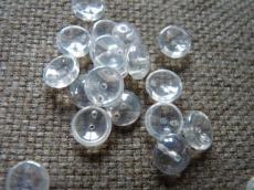 piggy gyöngy lüszteres kristály 20 db