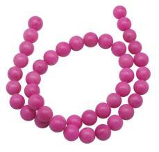 erős pink jade utánzat 4 mm szál
