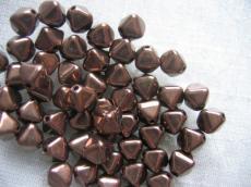 piramid gyöngy bronz 25 db