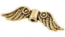 antik arany színű angyalszárny 10 db