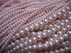 8 mm tekla: világos rózsaszín 25 db másodosztályú