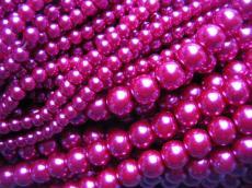 8 mm tekla: világos pink 25 db