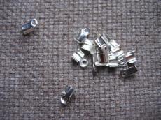 pántvég: ezüst kicsi 8 db