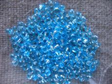 miyuki drops ezüst közepű aquamarine 10 g