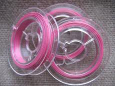 sodrony tekercs rózsaszín 10 m