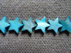 kagylógyöngy türkizkék nagyobb csillag