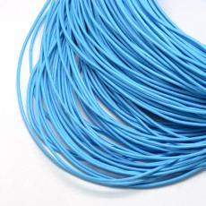 kék gömbölyített bőrszál