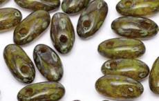rizo gyöngy: lime dark picasso 5 g