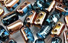 rulla gyöngy: copper-aqua 10 g