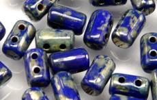 rulla gyöngy: telt kék picasso 10 g