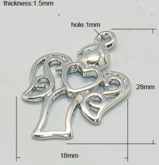 Angyal alakú medál