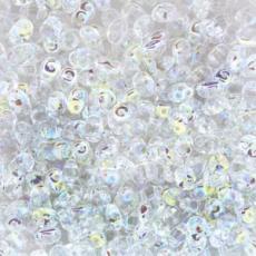 superduo gyöngy: crystal AB 10 g