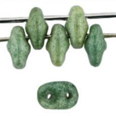 superduo gyöngy: lüszteres zöld 10 g