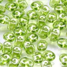 superduo gyöngy: lüszteres olivine 10 g