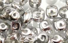 superduo gyöngy: félig ezüst kristály 10 g