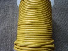 sárga gömbölyített bőrszál