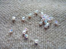 bicone 3 mm: crystal AB2X Xilion