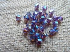sw bicone 4 mm amethyst AB2X Xilion