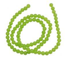 almazöld jade 6 mm szál