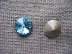 sw rivoli aquamarine 10 mm