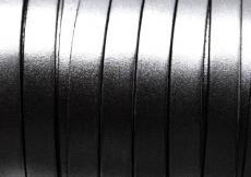 10 mm bőr karkötő alap ezüst 1 cm